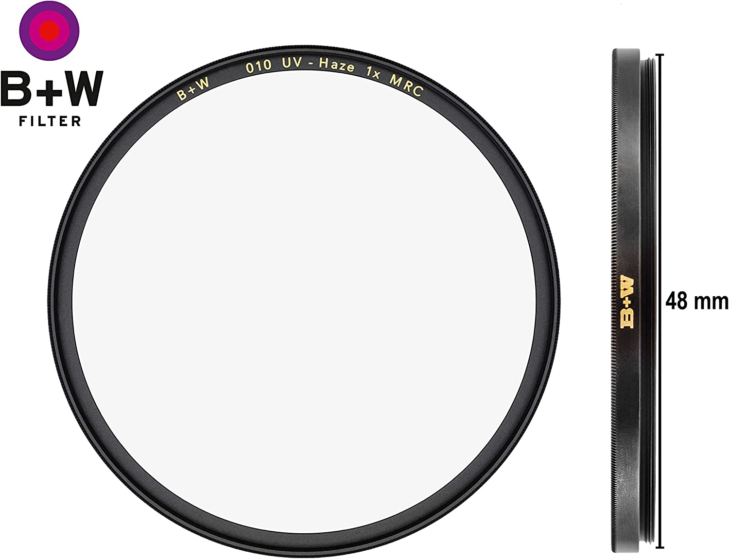 W UV-Haze Protection Filter for Camera Lens Photography Filter 010 B HTC Ultra Slim Titan Mount T-PRO 16 Layers Multi-Resistant and Nano Coating 82 mm
