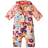 Hanna Andersson Baby Baby Journey's End Quilted Snowsuit, Size 80 (18-24 Months), Ballet Pink