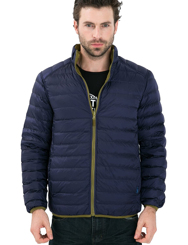 CHERRY CHICK Reversible Mens Light Weight Puffer Down Jacket