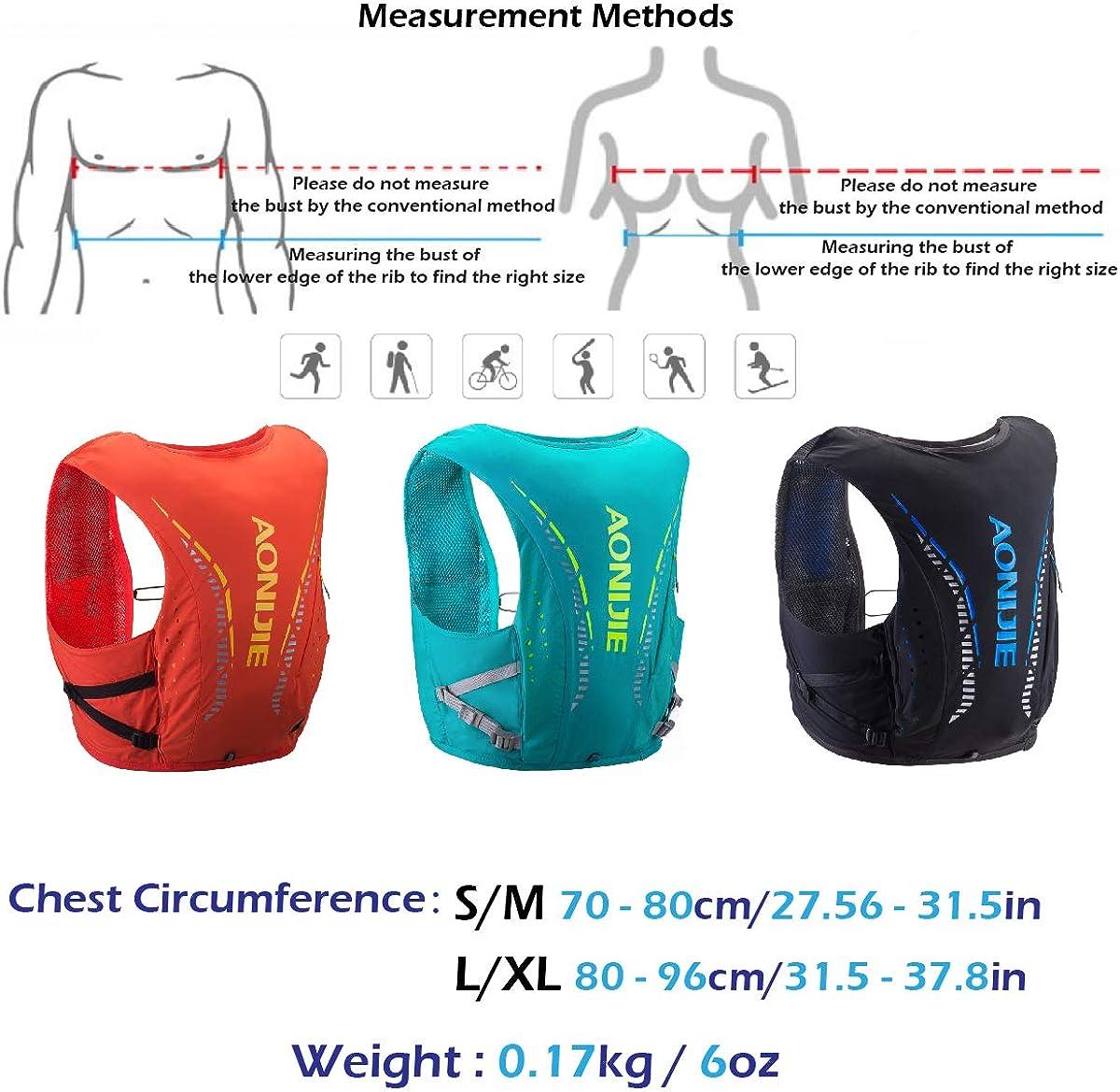 TRIWONDER 10L Hydration Vest Hydration Pack Backpack Ultra Marathon Running Vest
