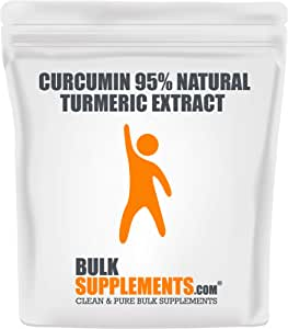 BulkSupplements Curcumin 95% Natural Turmeric Extract Powder (100 Grams)