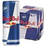 Red Bull Regular, 250 ml (Pack of 4)