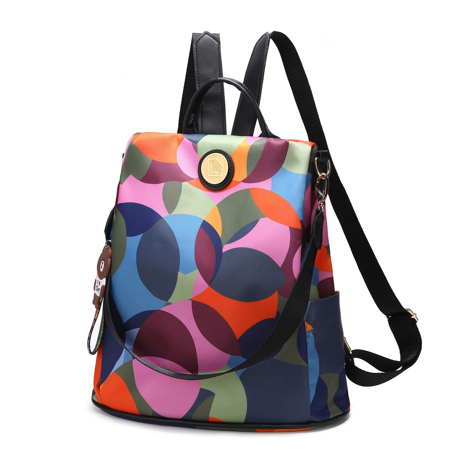 Womens Backpack Purse Anti-theft Fashion Lightweight Casual Travel Shoulder Bag…
