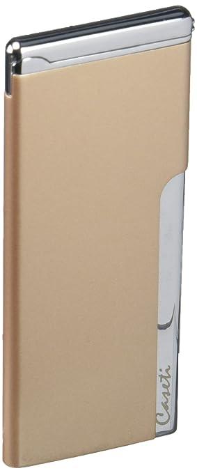 Amazon.com: Caseti Mens Elegante Ultra-Slim Cigarette Lighter, Gold: Sports & Outdoors
