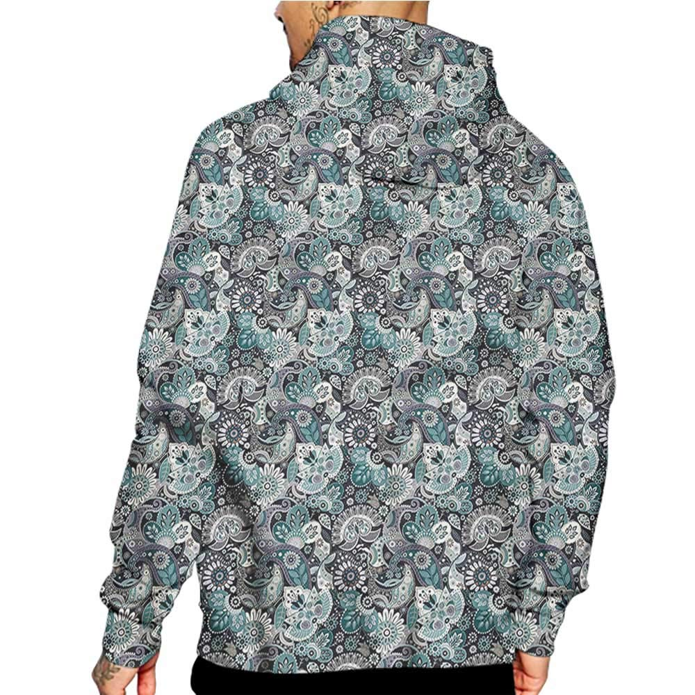 Unisex 3D Novelty Hoodies Paint,Dahlia Garden Exotic Nature,Sweatshirts for Women Plus Size
