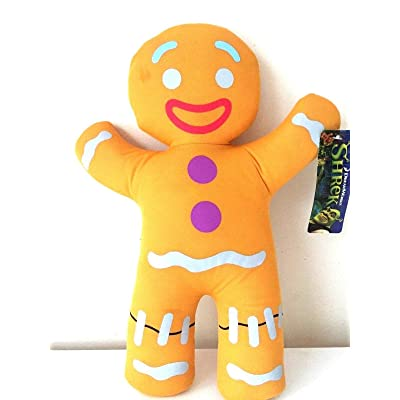"10"" Shrek the Third Gingerbread Gingy Plush: Toys & Games"