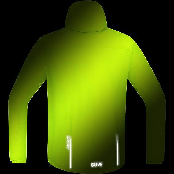 Amazon.com: GORE Wear Mens Waterproof Hooded Bike Jacket, GORE Wear C3 GORE Wear -TEX Paclite Hooded Jacket, 100036: Sports & Outdoors