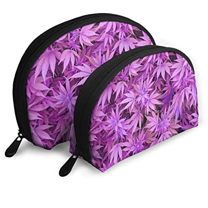 Weed Pot Leaf Purple Shell Bolsas portátiles Bolsos para ...