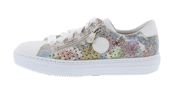 Rieker L59G7 Damen Low Top Sneaker,Halbschuh,Sportschuh,atmungsaktiv