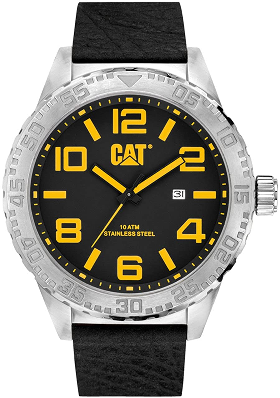 Amazon.com: CAT WATCHES - NH 141 34 137 - MEN - CAMDEN XL DATE 52MM: CAT WATCHES: Watches