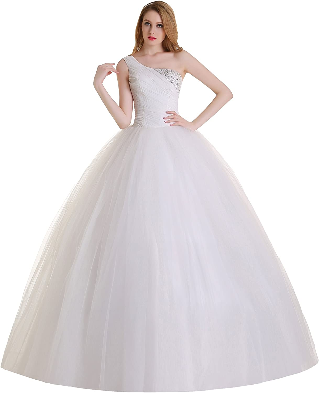 Brautkleid Traum Hochzeitskleid A-Linie Umstandskleid Weiß Ivory
