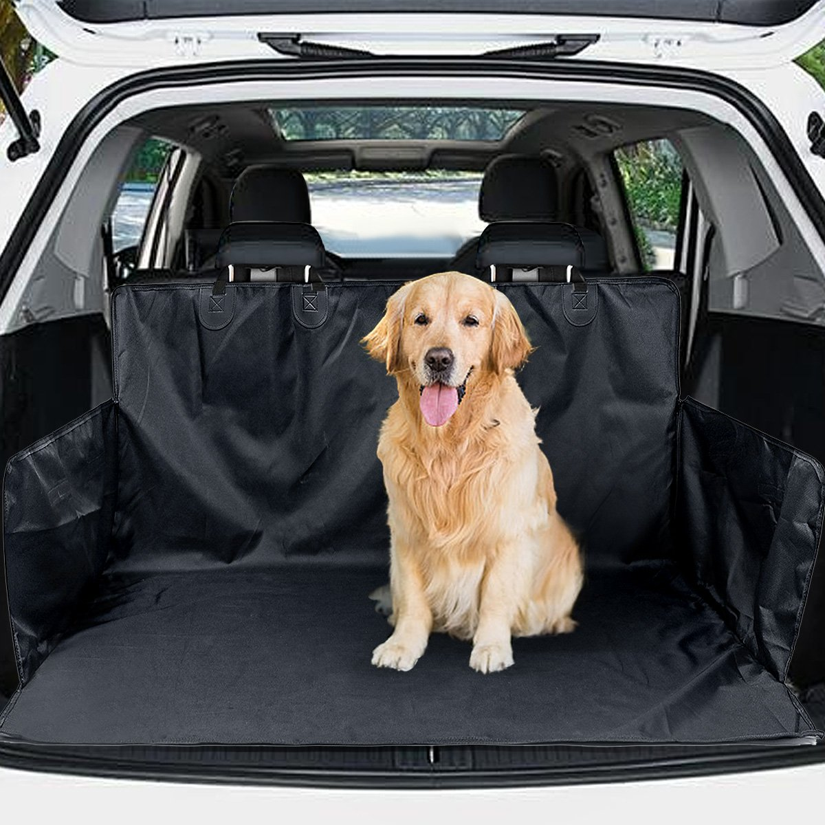 matcc housse de protection coffre pour chiens imperm able tapis chien ebay. Black Bedroom Furniture Sets. Home Design Ideas