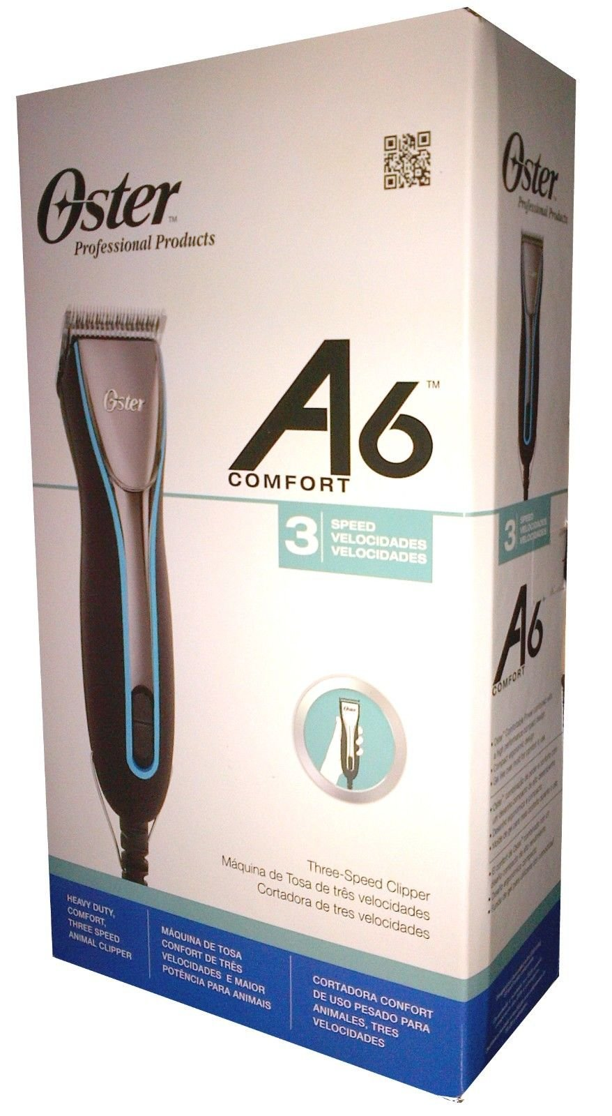 Oster Comfort A6 Professional Clipper 3 Speed 220v 78006-000 by A6