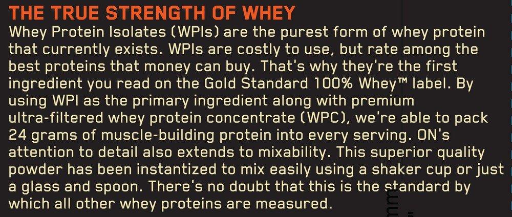 OPTIMUM NUTRITION GOLD STANDARD 100% Whey Protein Powder, Extreme Milk Chocolate, 10 Pound by Optimum Nutrition (Image #10)