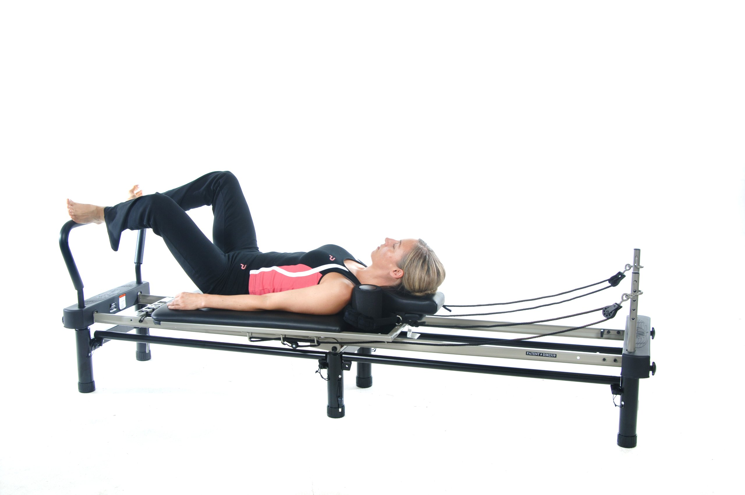 Stamina AeroPilates 700 Premier Reformer with Stand, Cardio Rebounder, Neck Pillow and DVDs by Stamina (Image #10)