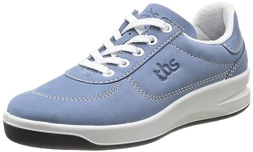 Brandy - Zapatillas de deporte de cuero para mujer azul Bleu (Jean) 39 TBS F0Xj2