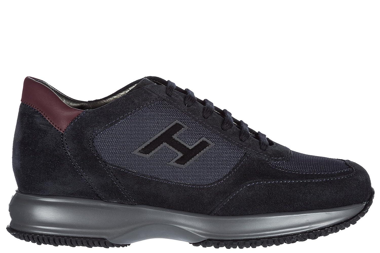 Hogan メンズ scarpe sneakers uomo camoscio nuove new interactiv B07C4JV3GQ