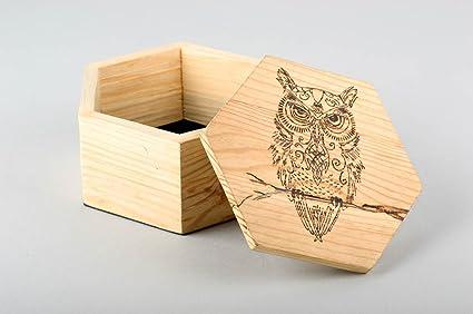 Amazon Com Handmade Wooden Box Beautiful Jewelry Box Home