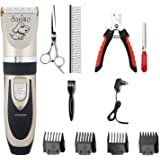 Aysis Professional Automatic Rechargeable Pet Hair Trimmer for Dogs (Trimmer)