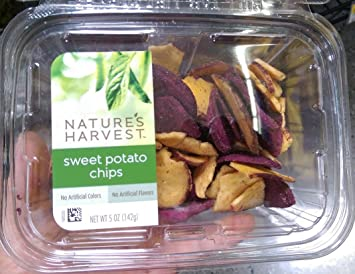 Natureu0027s Harvest sweet potato Chips ... & Amazon.com: Natureu0027s Harvest sweet potato Chips 5.5 oz