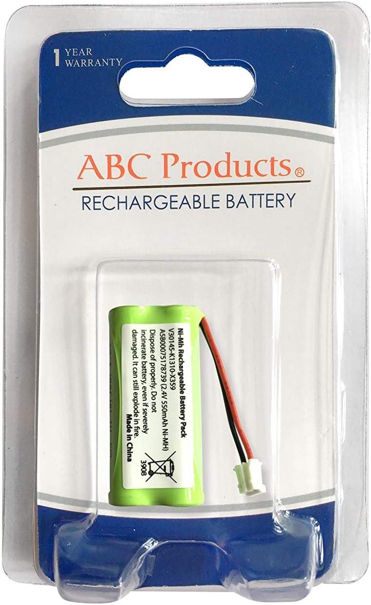 ABC Products® Batería para Siemens Gigaset A12, A16, A24, A120, A14, A140, A145, A160, A165, A240, A245, A260, A265, AL140, AL145, AS14, AS140, AS150, Q063 Teléfono inalámbrico Telephone Phone: Amazon.es: Electrónica