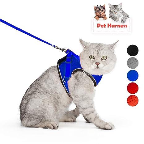SENYE - Arnés para gato y perro a prueba de escapes, arnés ...