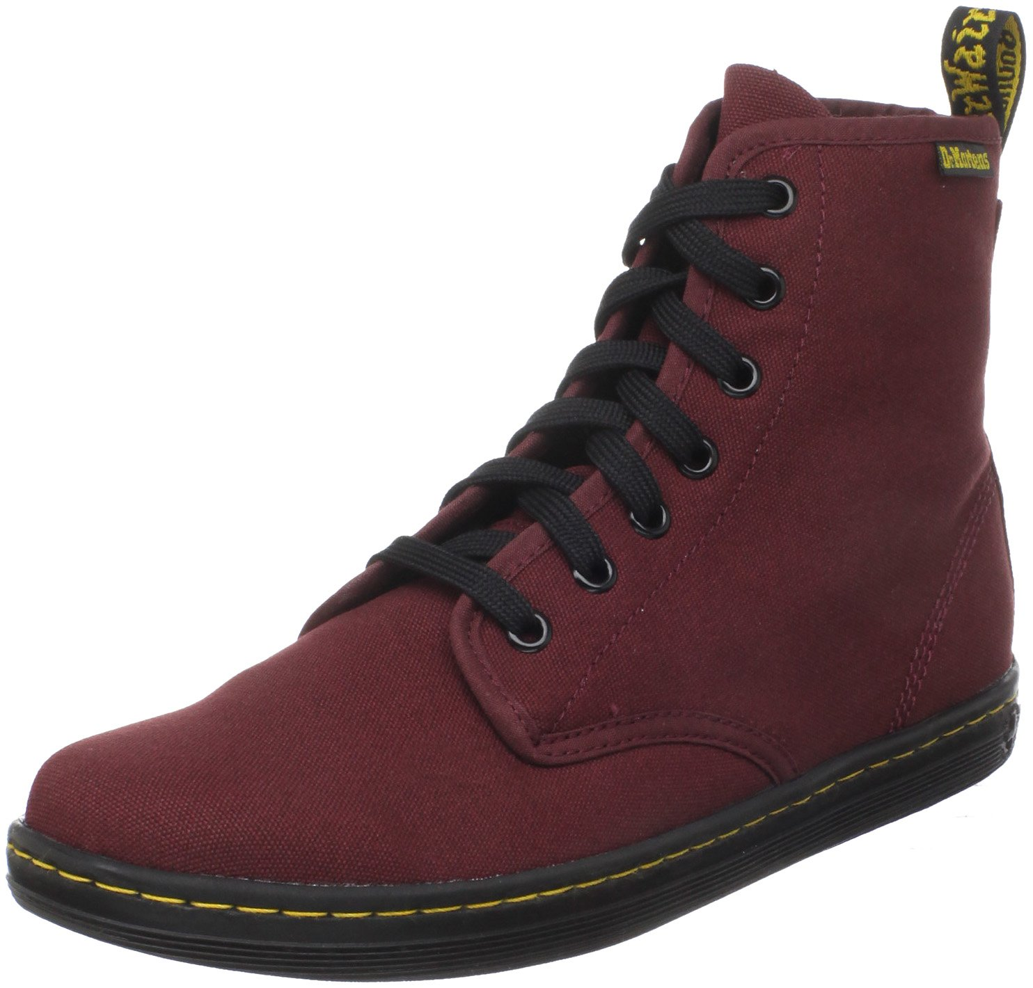 Dr. Martens Women's Shoreditch Boot,Cherry Red Rouge,5 UK (US Women's 7 M)