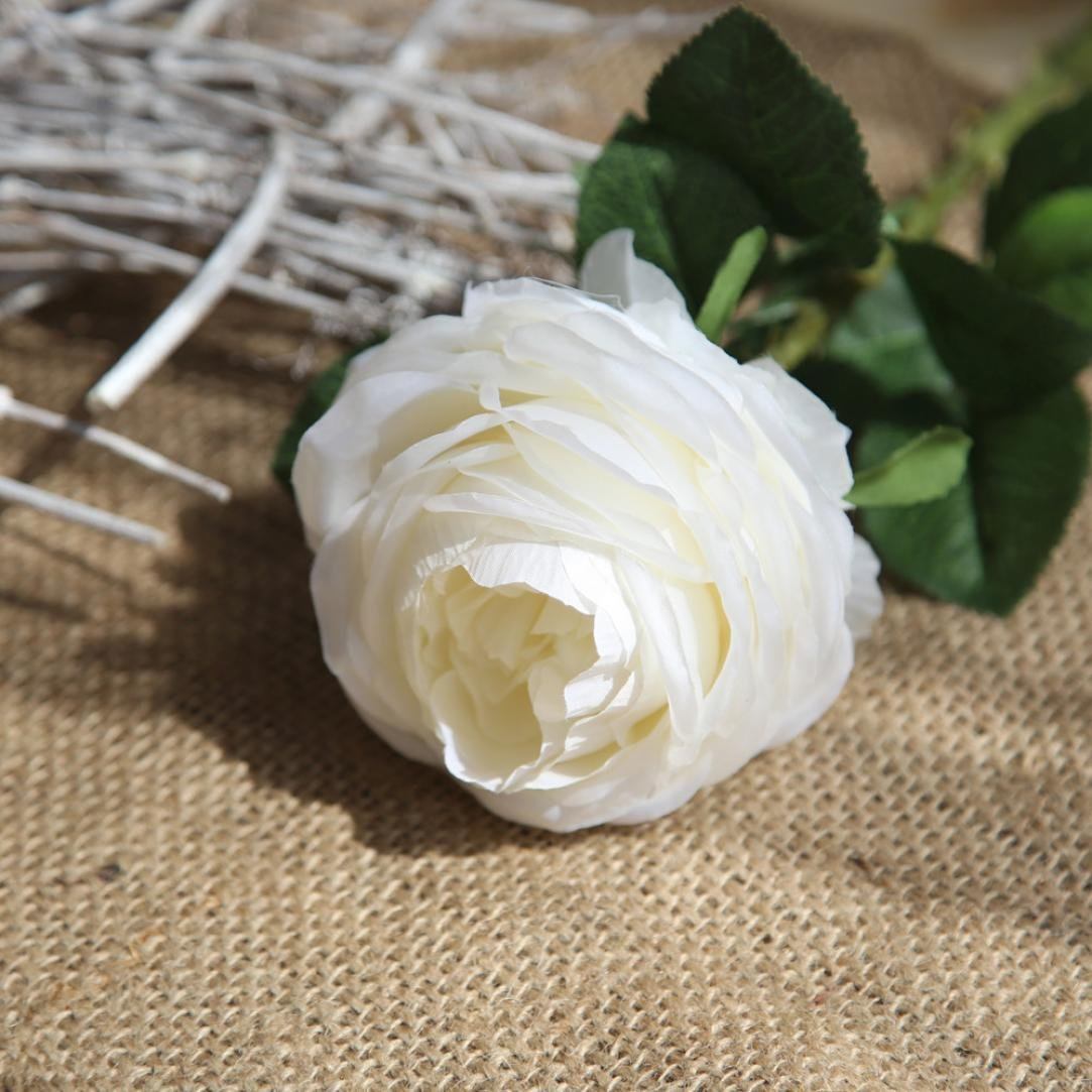 Amazoncom Decorative Simulation Flower Lotusflower Single Piece