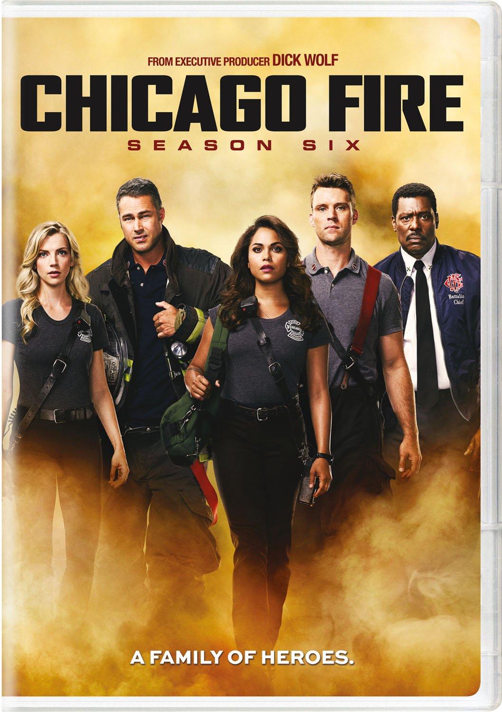DVD : Chicago Fire: Season Six (Boxed Set, 6PC)