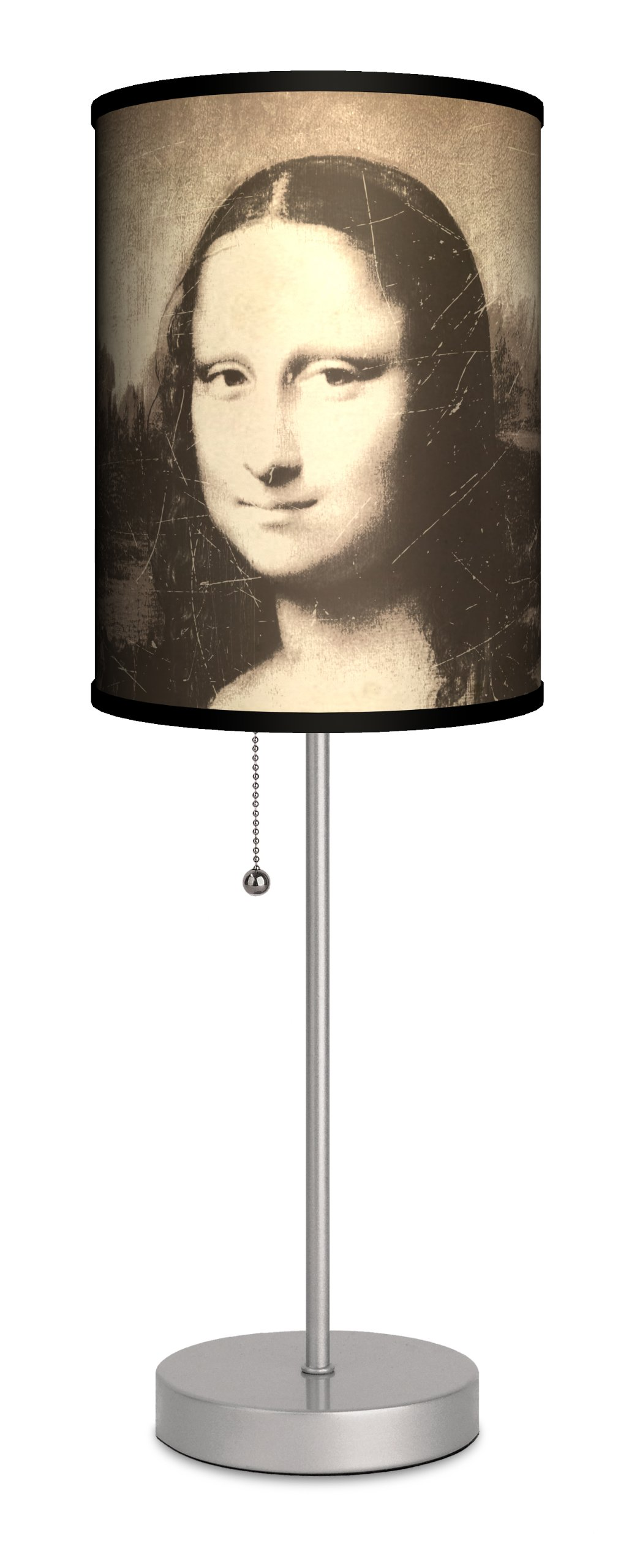 Art - Leonardo da Vinci ''Mona Lisa'' Sport Silver Lamp
