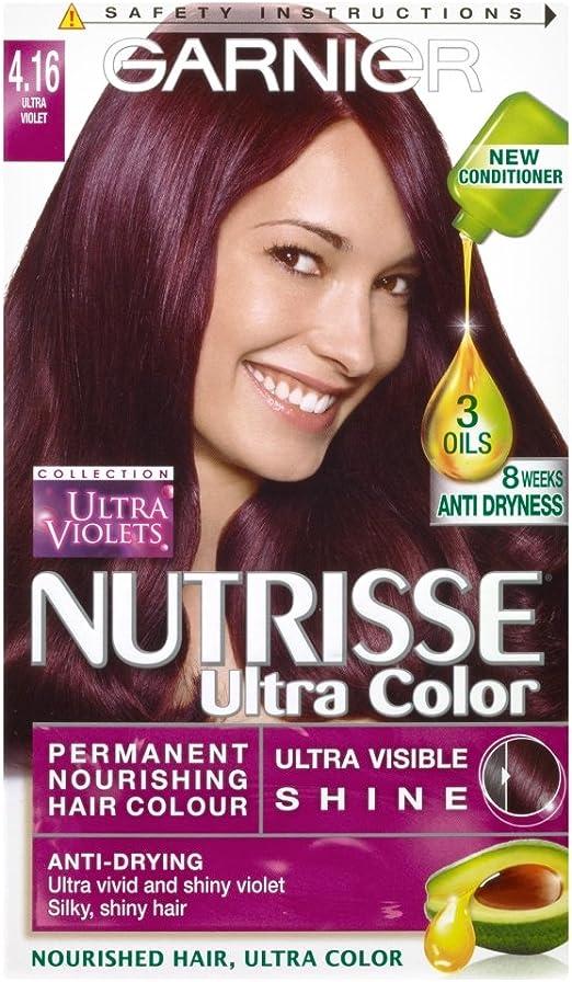 Garnier Nutrisse 4.16 - Tinte para el cabello permanente ...