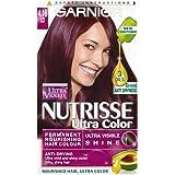 Garnier Nutrisse Ultra color permanente pelo color 4,16), color morado