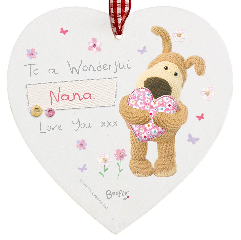 Amazon.de: To A Wonderful Nana Love You Boofle Schild zum Aufhängen ...