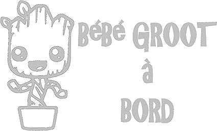 Sticker B/éb/é /à bord B/éb/é Groot /à bord!