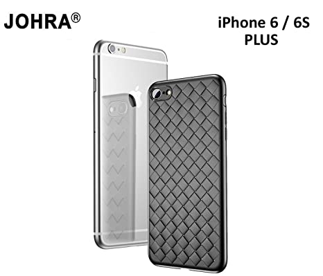 47614209eb Johra Waeving_Black_iPhone_6and_6S_Plus Cover Case for Apple iPhone 6 Plus/Apple  iPhone 6S Plus (Black
