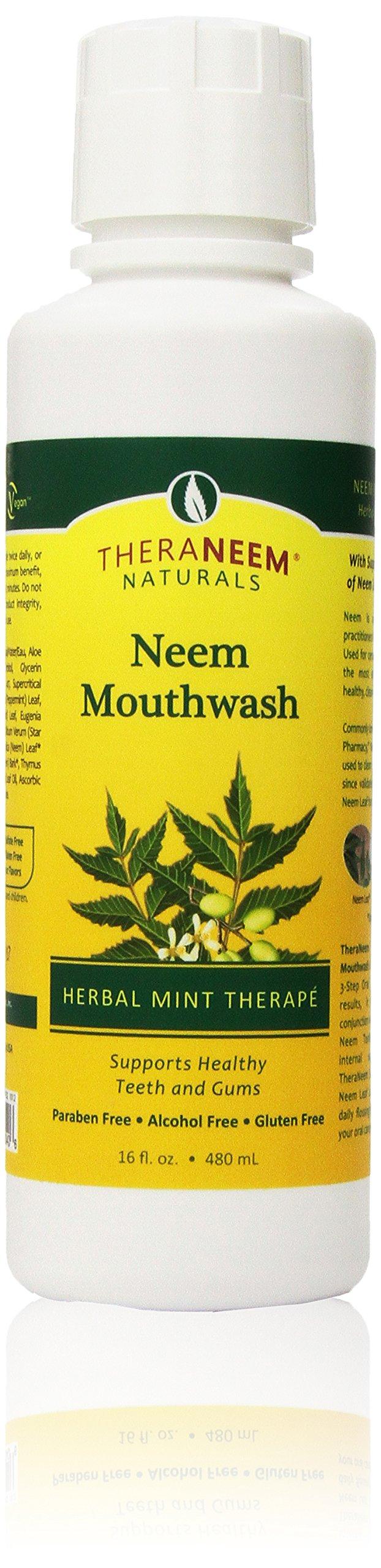 TheraNeem Mouthwash-Mint Organix South 16 Fl oz Liquid