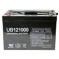 Universal Power Group 12V 100Ah Battery for Minn Kota, Minnkota, Cobra, Sevylor other trolling motor