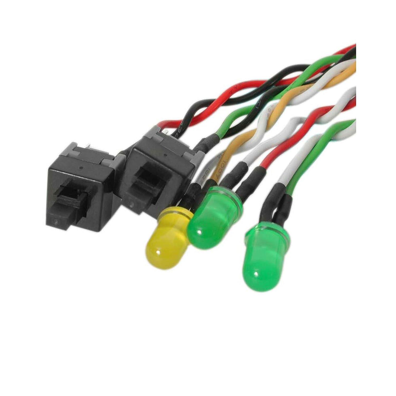 71ZuoE1KgBL._SL1500_ amazon com startech bezelwrkit atx case front bezel wire kit