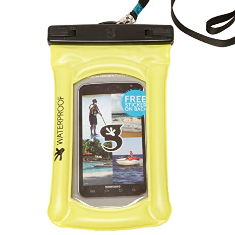bda7b6ecef Image Unavailable. Image not available for. Color  geckobrands Float Phone  Dry Bag ...