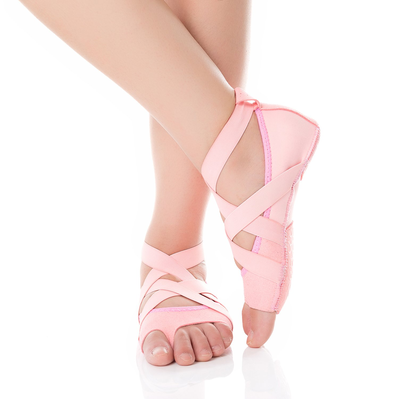 Barerun Classic Ballet Slipper Barefoot Flat Dance Yoga Shoes Pink 6.5-7.5 B(M) Women
