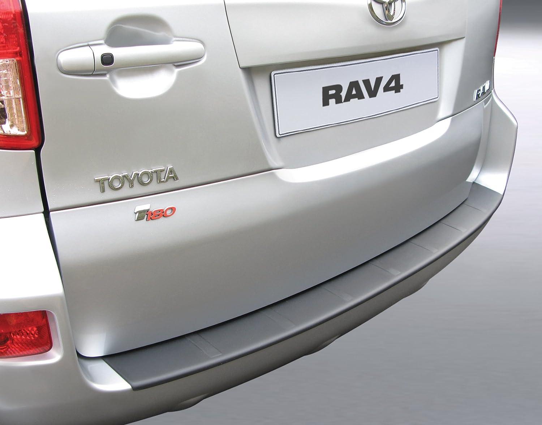 f/ür Rav4 V Modelle von 2018 Ladekantenschutz Sto/ßstange schwarzes ABS