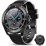ELEGIANT Smart klocka, fitnessspårare för män och kvinnor, fitnessarmband, sportklocka, 1,3-tums pekskärm, pulsmätare…
