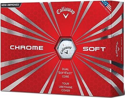 Callaway Chrome Soft Golf Balls, Prior Generation