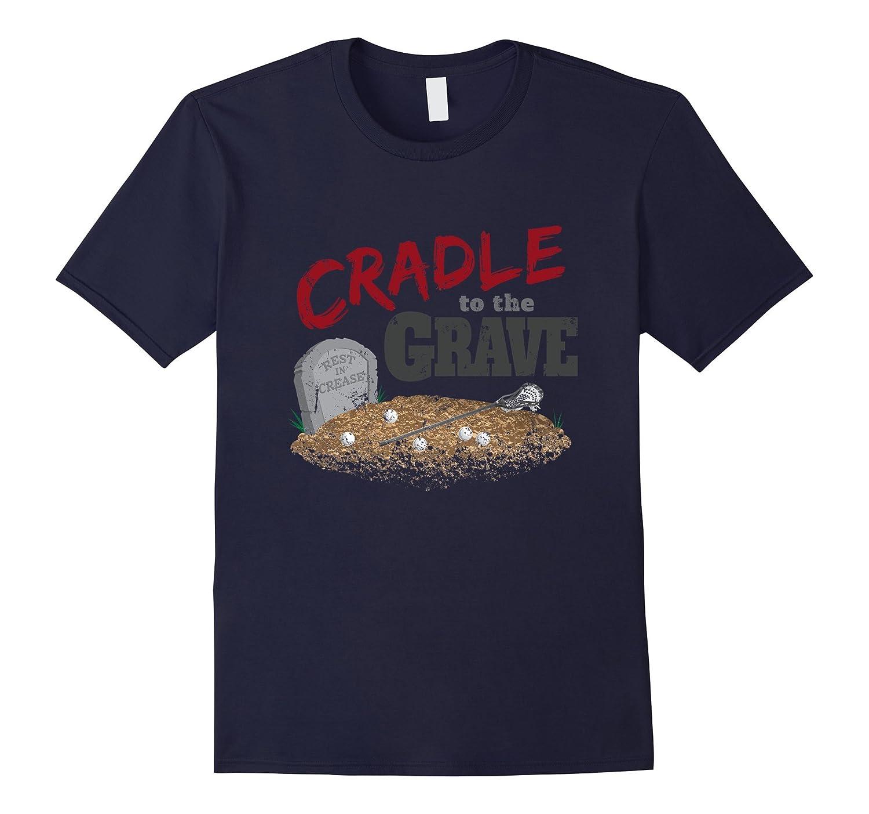 Lacrosse Cradle to the Grave T-shirt-Art