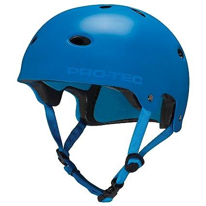 ProTec Skate/Bike - Casco de ciclismo, color azul, talla L (L ...