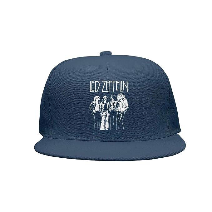 c86c46d13fa Dolorexri Snpaback led-Zeppelin-Members-Poster-Kashmir- Baseball Cap  Trucker Hat at Amazon Men s Clothing store