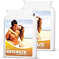 MyTan Bronze Tanning Pills | Twin Pack Discount | Over 12-Week Supply | Beta Carotene...