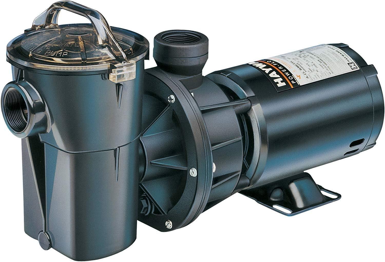 Hayward W3SP1780 PowerFlo II Above-Ground Pool Pump, 1 HP