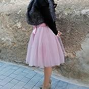 SCFL Falda del Ballet de la Enagua del Enaguas de la Falda Medio ...