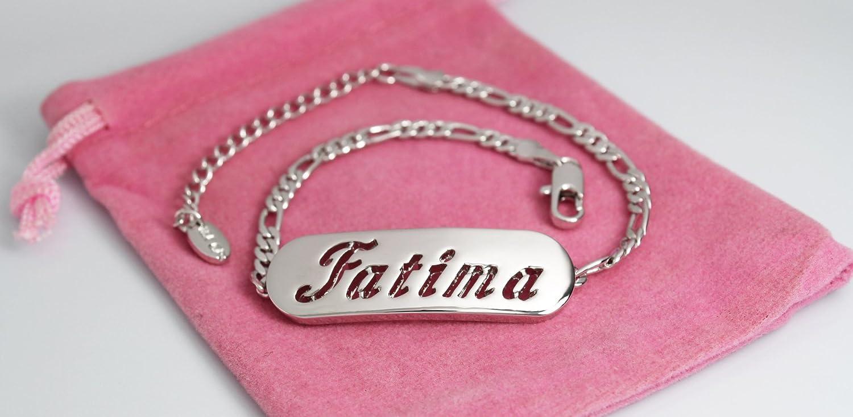 Zacria FATIMA 18K White Gold Plated Gift Set